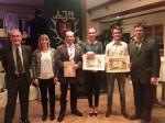 Goldenes Rebhuhn der Jägerschaft für Landwirt Willem Ruesink aus Werlte – Jägerbriefe für zwei Jungjäger aus Werlte