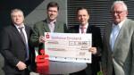 Spende der Sparkasse: 10.000 Euro für Biotopfonds der Jägerschaft Emsland