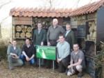 Hegering Aschendorf: Neues Insektenhotel aus Mitteln des Biotop-Fonds