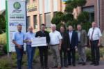 Raiffeisen Ems-Vechte unterstützt den Biotop-Fonds
