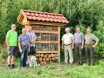 – Projekt – Insektenhotels –