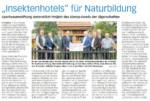 """""""Insektenhotels"""" für die Naturbildung"""